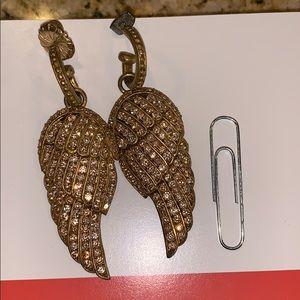 Jewelry - Gold Wing Earrings